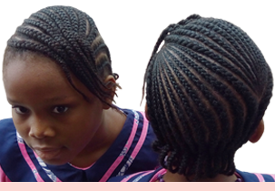 Handmaids International Catholic School hair style