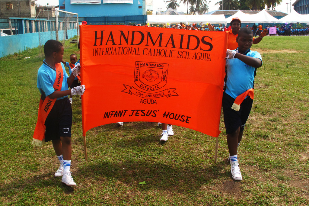 Welcome to Handmaids International Catholic School Aguda